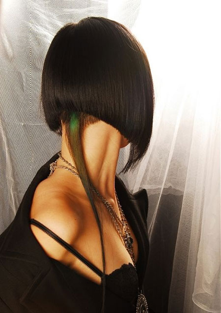 Side-and-Back-View-of-the-Short-Bob-Hairstyle Short Bob Hairstyles for Ladies