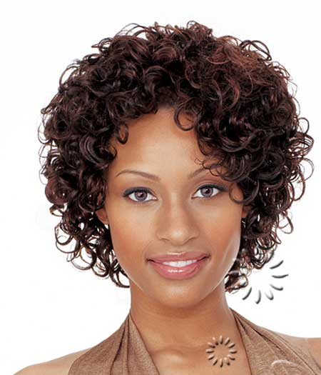 Simple-Short-Curly-Hair Short Curly Women's Hairstyles