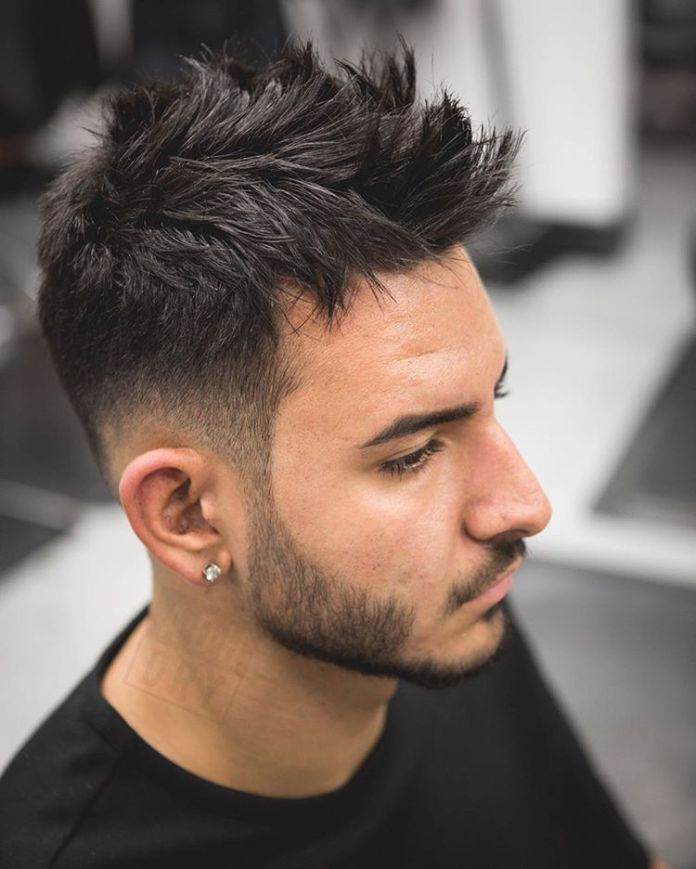 Spike-Haircut-for-Men Stylish Hairstyles for Men to Look Attractive