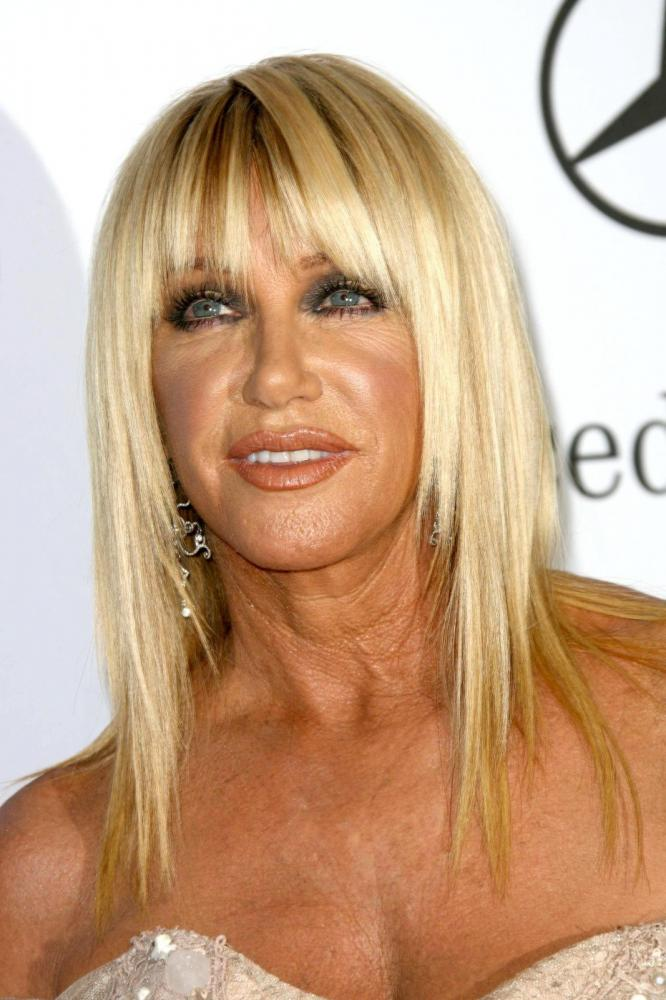 Straight-Lob-with-Wispy-Bangs Hairstyles For Women Over 50 With Bangs
