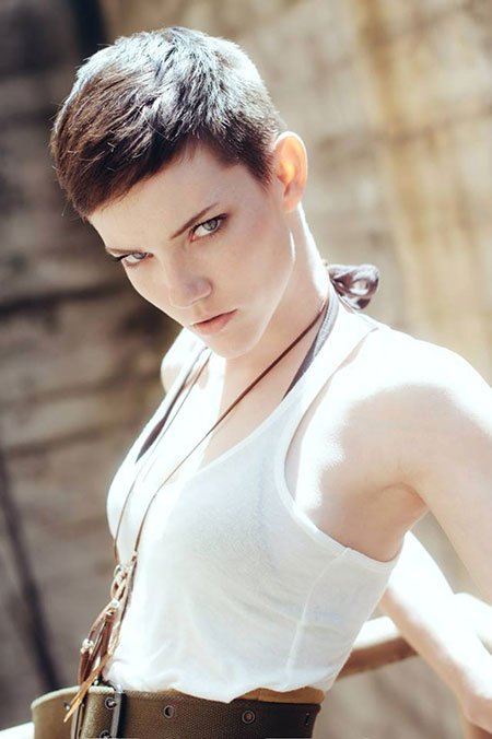 Super-Short-Boyish-Pixie-Haircut Pixie haircuts are undoubtedly the best short haircuts for you