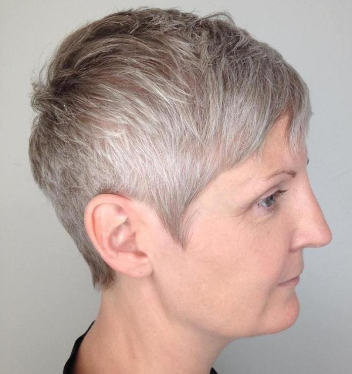 Super-Short-Haircut Gorgeous Hairstyles and Haircuts for Women Over 40