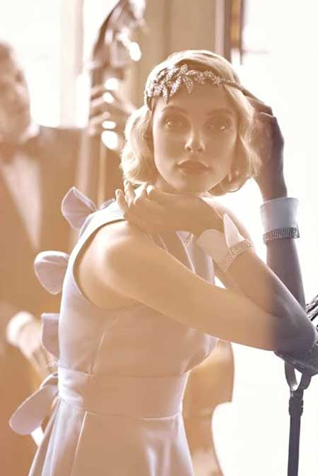The-Lovely-and-Very-Appealing-Wedding-Bob-Hair Wedding Hairstyles for Short Hair