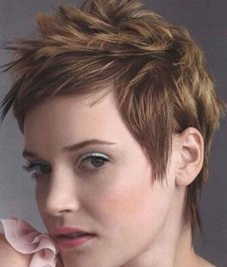 The-Messy-Spikes-Pixie-Haircut Pixie haircuts are undoubtedly the best short haircuts for you