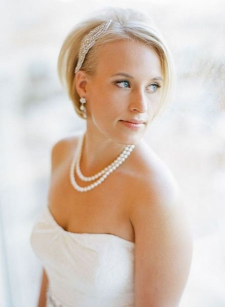 The-Very-Charming-and-Mesmerizing-Bob-Hair Wedding Hairstyles for Short Hair