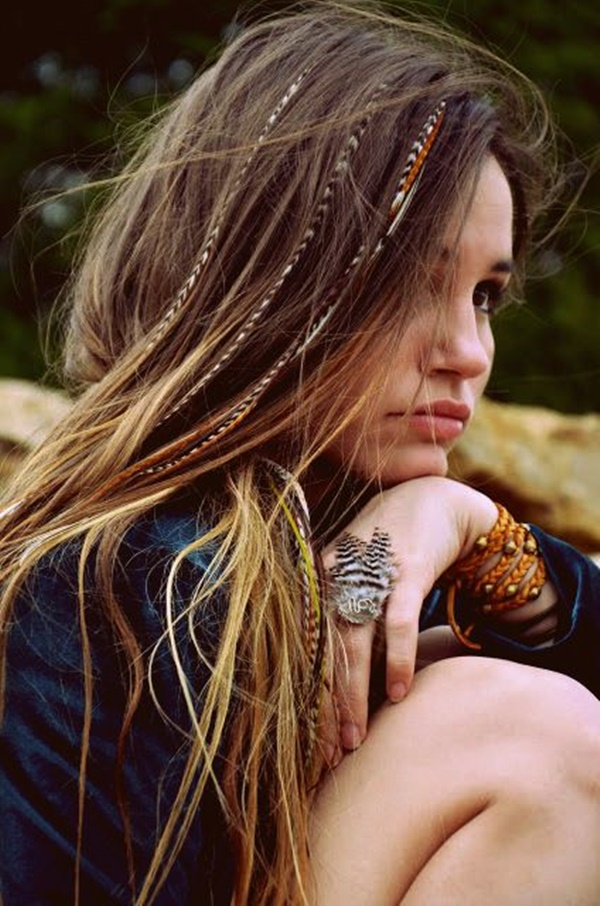 Unbolted-Bumpy-with-Braided-Extensions Hippie Hairstyles for a Stylish and Reviving Look