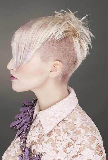 Very-Light-Blonde-Look Short hair color ideas