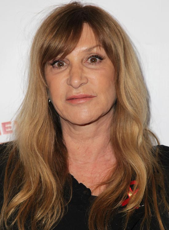 Waves-With-Side-Swept-Bangs Hairstyles For Women Over 50 With Bangs