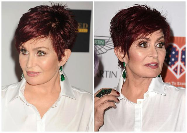 sharon-osbourne-hair Hottest Short Layered Hairstyles For Women Over 50