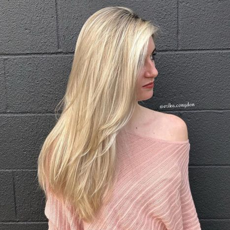 Asymmetrical-Side-Swept-Downdo 15 Picture-Perfect Hairstyles for Long Thin Hair