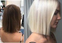 Blonde-Bob-Hair Home