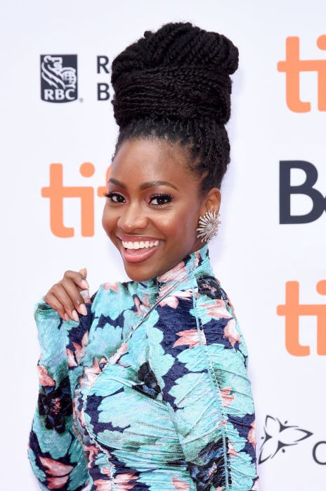 Box-Braid-Top-Knot 12 Best Natural Hairstyles For Black Women