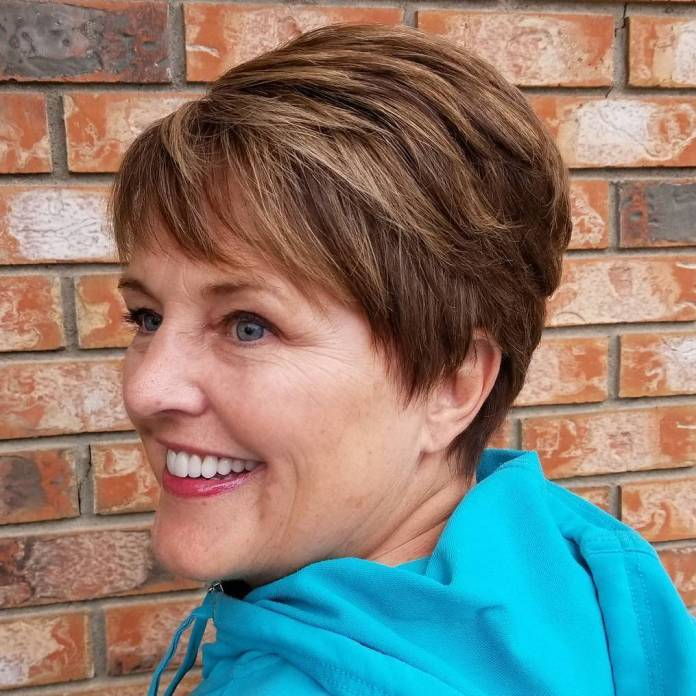 Charming-Boyish-Cut Short Hairstyles for Older Women Who Want a Timeless Look