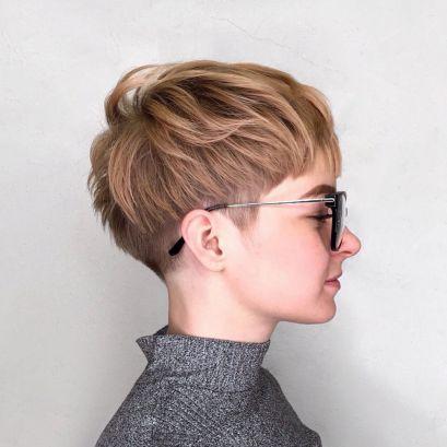 Chopped-Undercut-Pixie 12 Stunning short layered bob haircuts