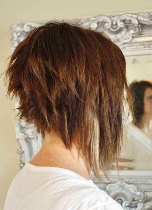 Choppy-Medium-A-Line-Bob 20 of the Most Hottest A-Line Bob Hairstyles