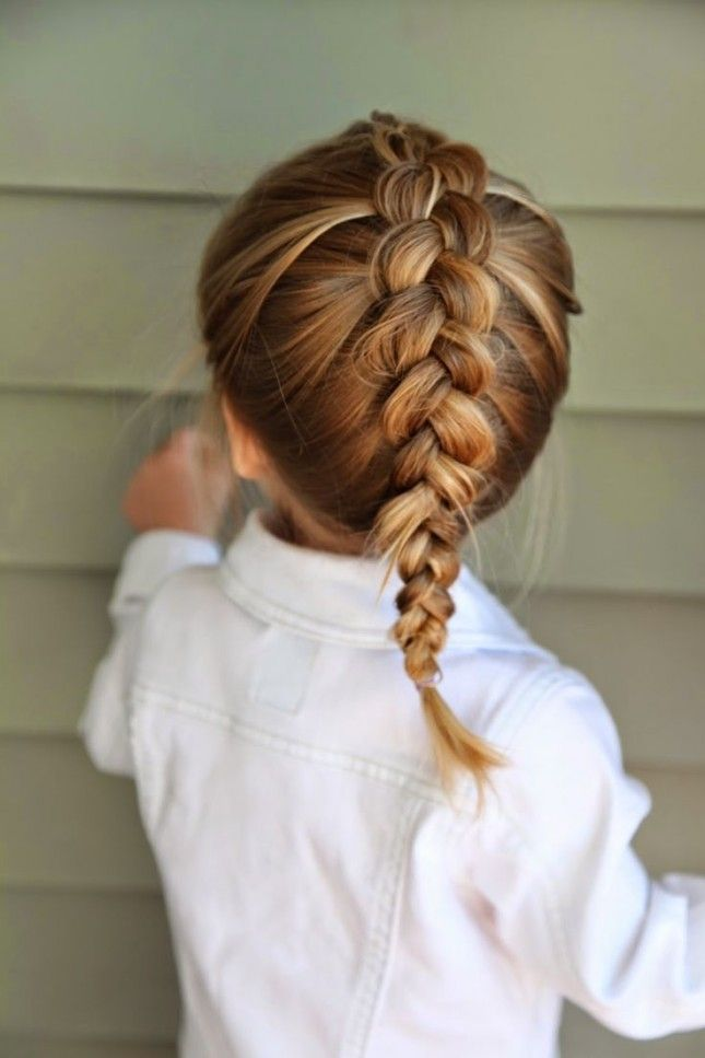 Classic-Dutch-Braid-Hairstyle Glamorous Dutch Braid Hairstyles to Try Now