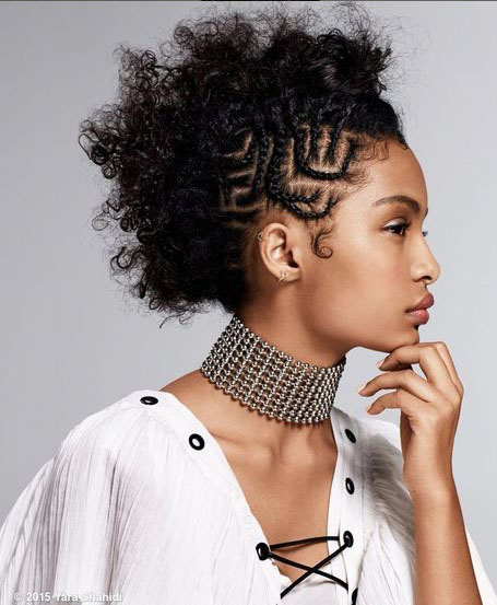 Cornrow-Braids-with-Natural-Hair 10 Stunning Cornrow Hairstyles to Inspire Your Next Look