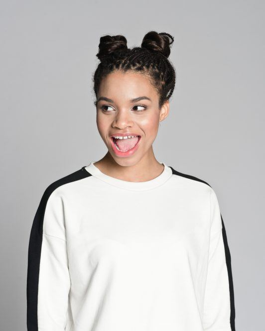 Cornrows-Into-Space-Buns 16 Stunning Natural Hairstyles for Black Women