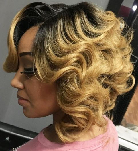 Curls-and-Layers 10 stunning short bob haircuts for black women