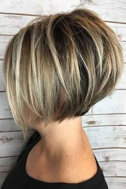 Cute-Blonde-Balayage-Hair Popular Pictures of Short Hairstyles in 2020