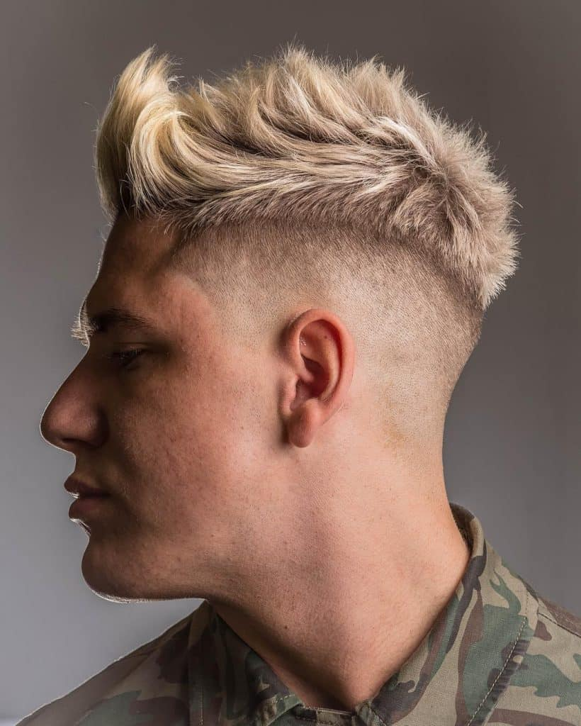 Disconnected-Undercut-with-Spikes Most Stylish Hairstyles with Disconnected Undercut