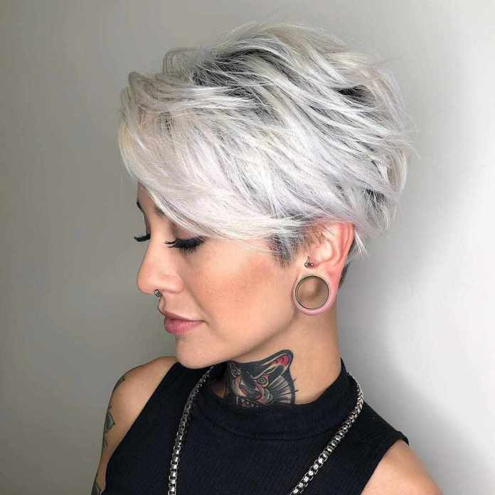 Edgy-Pixie Glamorous Pixie Cut 2020 for Astonishing Look