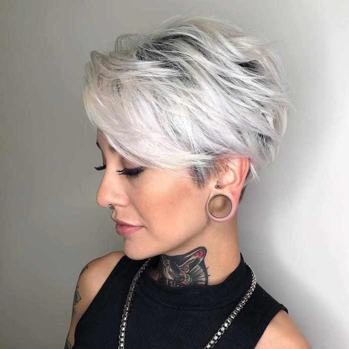 Edgy-Pixie Glamorous Pixie Cut 2020 for Astonishing Look