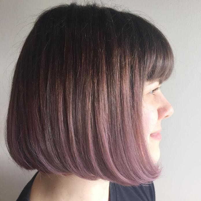 Feather-Shadow-Bridge Must Try Bob Hairstyles 2020 for Trendy Look