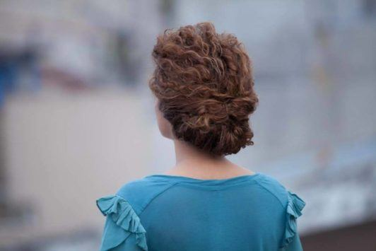 Formal-Updo 16 Stunning Natural Hairstyles for Black Women