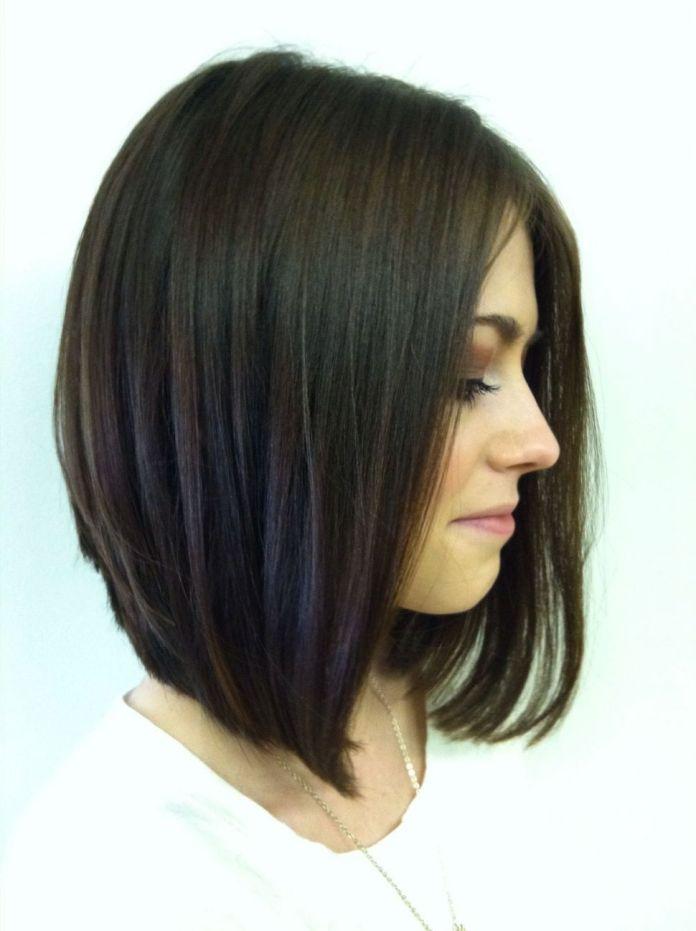Front-Layered-Bob-Hairstyle Most Amazing Bob Haircuts for Thin Hair