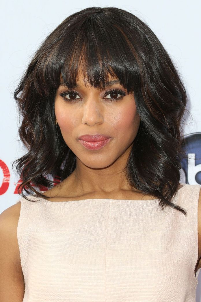 Hairtyles-with-bangs-Thick-and-Choppy-Bangs 16 eye-catching Hairstyles with bangs