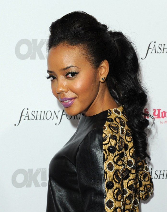 Jet-Black-Puffed-Hairdo-with-Curly-Ponytail Awesome Long Hairstyles for Black Girls