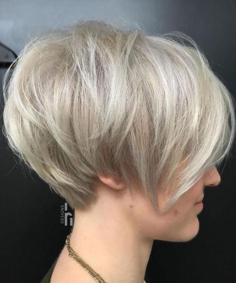 Layered-Ash-Blonde-Pixie-Bob-1 10 Fabulous Ideas for Short Choppy Haircuts