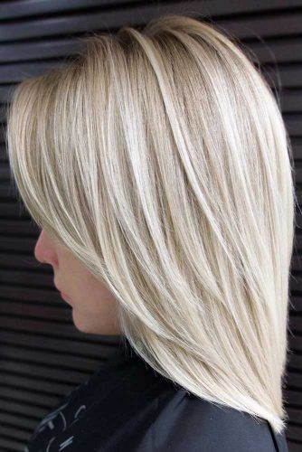 Lob-With-Swoopy-Face-Framing-Layers-Mediumhairstyles-for-thick-hair 15 Graceful Medium Length Haircuts for Thick Hair