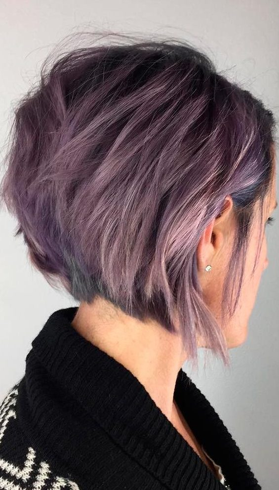 Messy-Bob-Cut Roaring and Attractive Short Hairstyles 2020