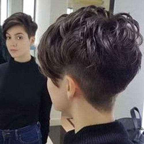 Modern-Pixie-Haircut Popular Pictures of Short Hairstyles in 2020
