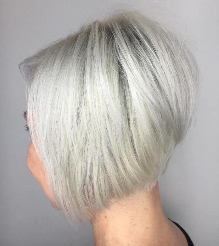 Mushroom-Cut-Bob-Hairstyle Most Amazing Bob Haircuts for Thin Hair