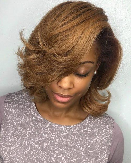 Natural-looking-bob 10 stunning short bob haircuts for black women