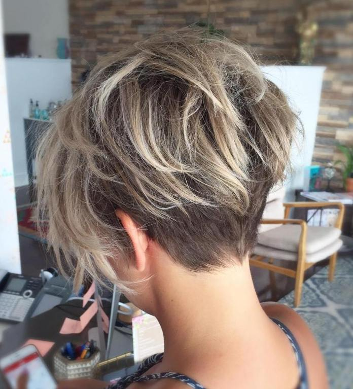 Pixie-with-Nape-Undercut 14 stunning Short Haircuts and Hairstyles for Fine Hair