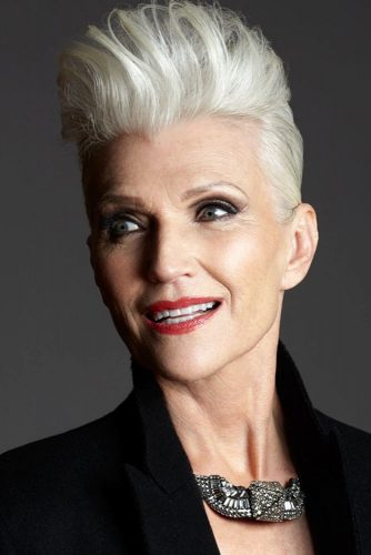 Punky-Pixie Elegant Pixie Hairstyles For Women over 50