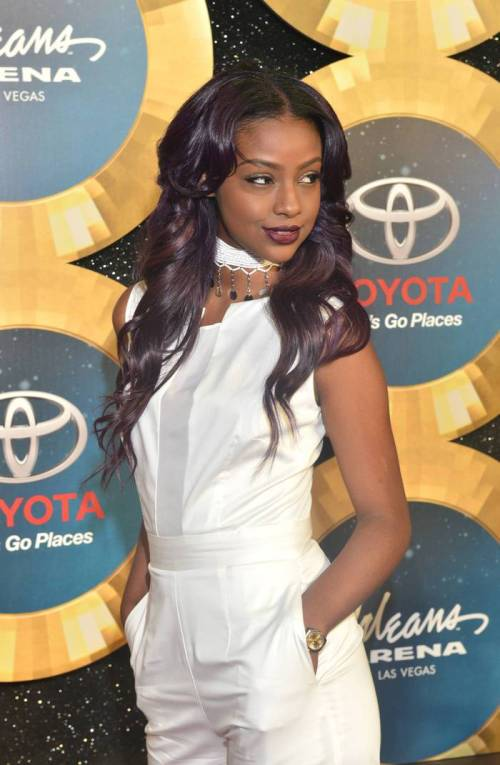 Purple-Toned-Long-Weave-Hairstyle 10 stunning long Hairstyles for Black Women