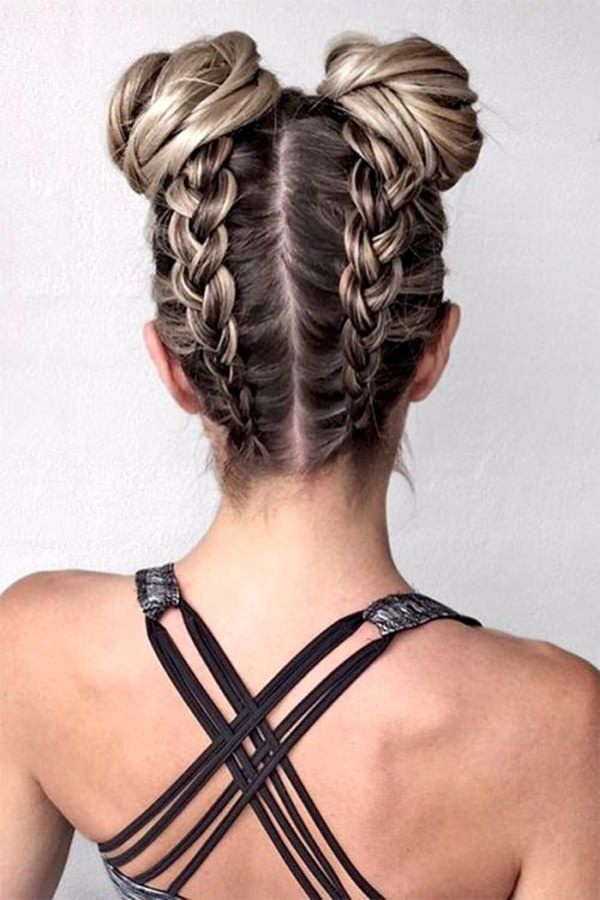 Reverse-Braid-Knot-Hairstyle Glamorous Dutch Braid Hairstyles to Try Now
