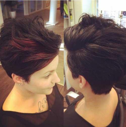 Short-Sides Trendy Short Haircuts for Women Over 40
