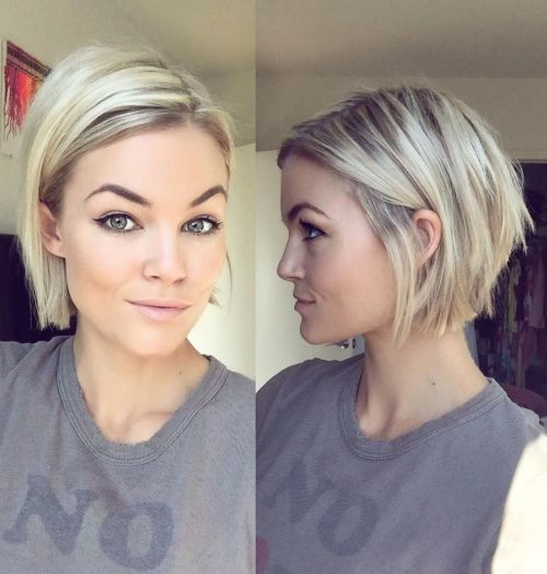 Short-Straight-Bob-Hairstyle 15 flattering short hairstyles for thin hair