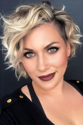 Side-Parted-Wavy-Pixie-With-An-Undercut 12 Best Short Haircuts For 2020