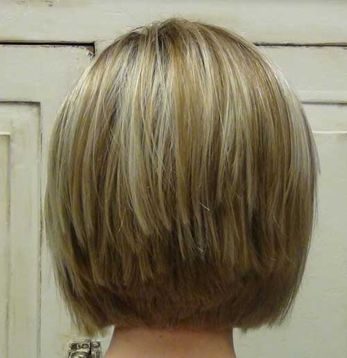 Stacked-Haircut 14 stunning Short Haircuts and Hairstyles for Fine Hair