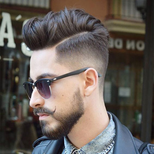 Taper-Fade-Thick-Comb-Over 20 Popular Haircuts For Men in 2020