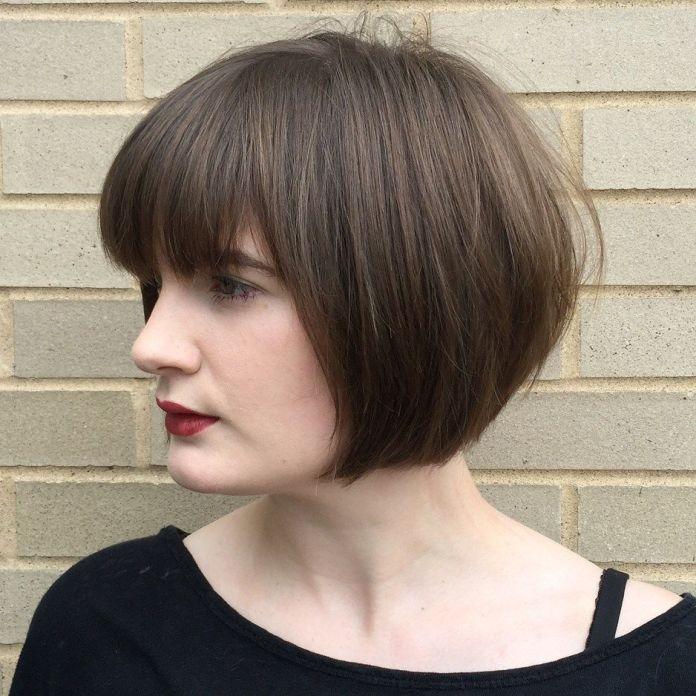 Tapered-Bob-Haircut Most Amazing Bob Haircuts for Thin Hair