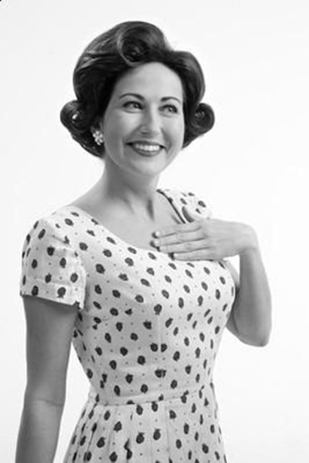 The-1950's-Short-Curly-Hairstyle Cute Short Hairstyles