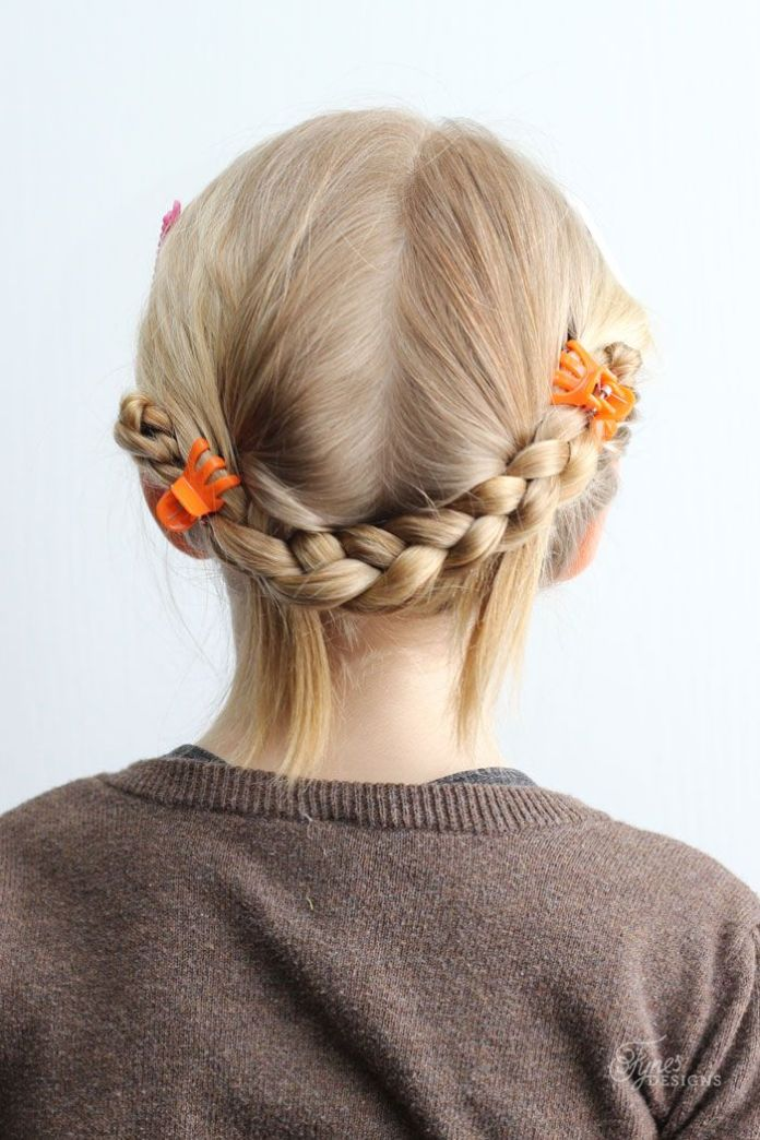 Tied-Up-Braids 10 super cute braid hairstyles for kids